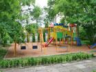 """Детская площадка в базе отдыха """"Светлая"""""""