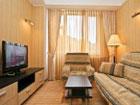 Дом творчества писателей им.Чехова, люкс, гостиная.