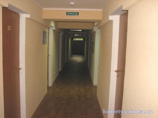 "Гостиница ""Чайка"", коридор"