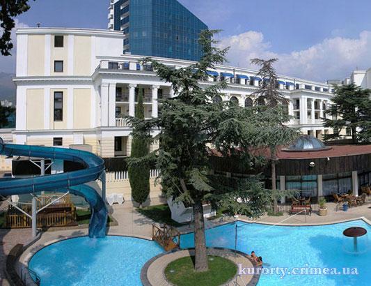 """Гостиница """"Ореанда"""", открытый бассейн"""