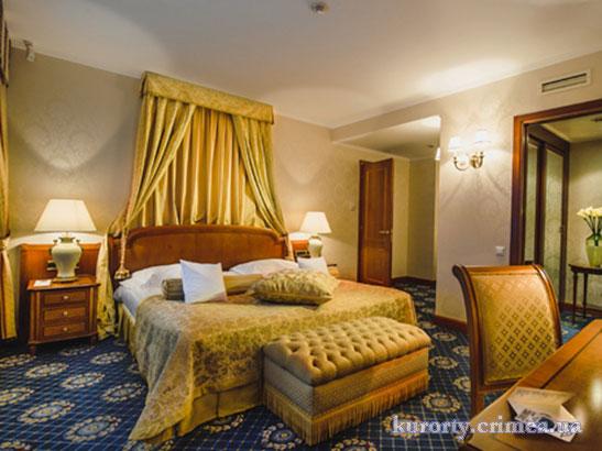 """Гостиница """"Ореанда"""", спальня в императорских апартаментах"""
