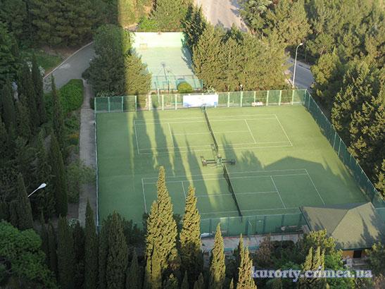 "Гостиница ""Ялта-Интурист"", теннисный корт"