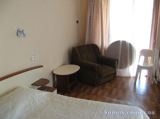 """Курорт-отель """"Демерджи"""", коттедж, 2 этаж, номер полулюкс."""