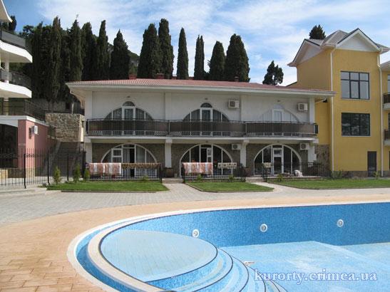 """Курорт-отель """"Демерджи"""", бассейн, корпус №6."""