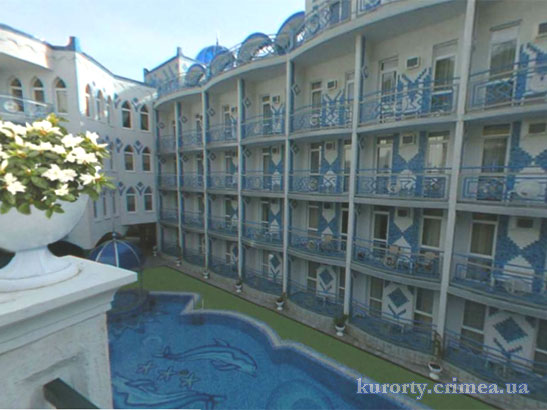"""Отель """"1001 ночь"""", здание"""