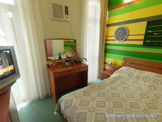 """Отель """"1001 ночь"""", Deluxe 2 (402), спальня"""