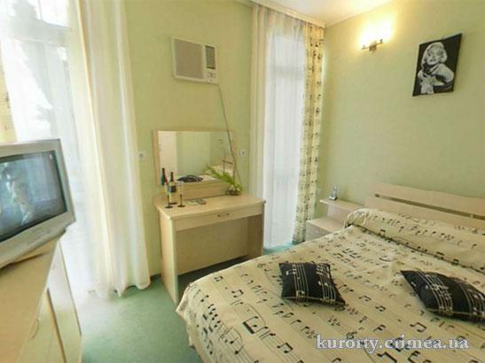 """Отель """"1001 ночь"""", Deluxe 2 (404), спальня"""