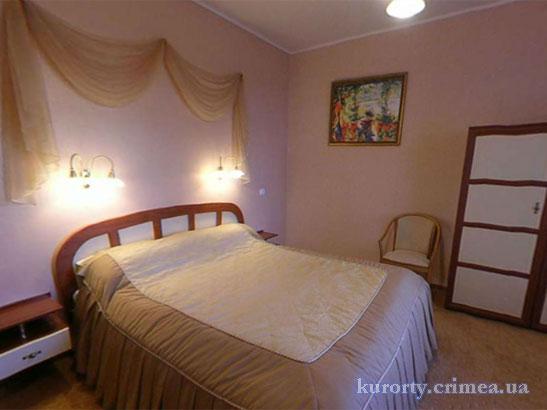 """Отель """"1001 ночь"""", Lux (413), спальня"""