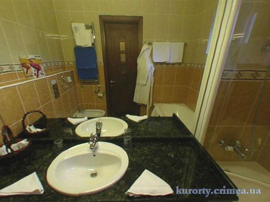 """Отель """"1001 ночь"""", Suite Shahriyar (411), ванная"""
