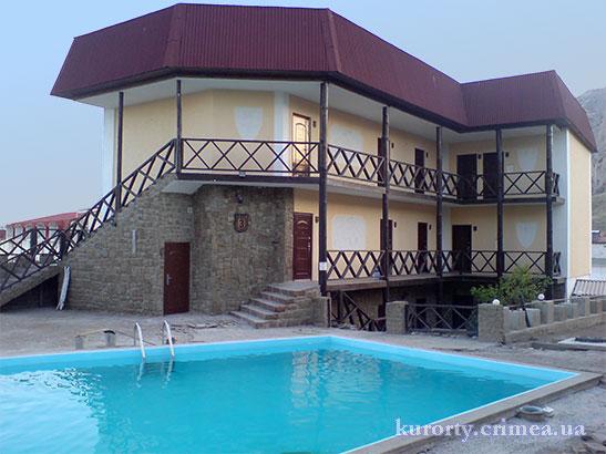 "Отель ""Бастион"", бассейн и корпус №3"