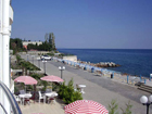 """Отель """"Морской"""", вид на набережную и пляж"""