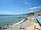 """Отель """"Морской"""", пляж"""