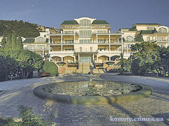 """Отель """"Пальмира-палас"""", корпус с северной стороны"""