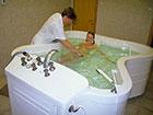 """Курортный отель """"Сосновая роща"""", подводный душ-массаж в лечебном корпусе"""
