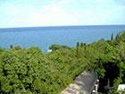 """Вид на море из отеля """"Веселый Хотэй""""."""