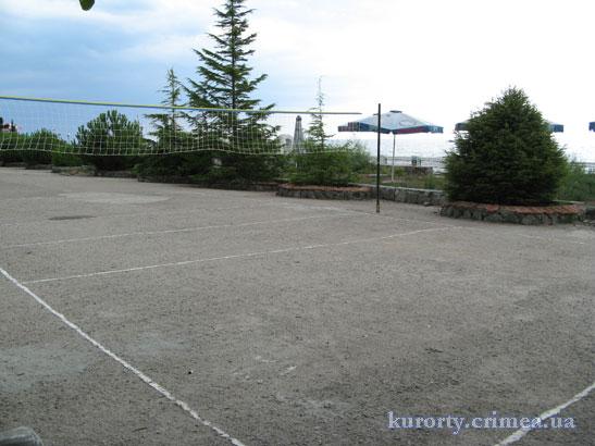 "Пансионат ""Алые паруса"", теннисная площадка."