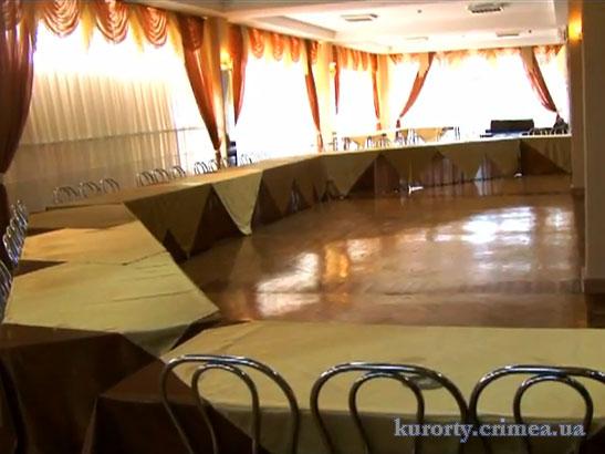 """Пансионат """"Ай-Тодор-Юг"""", банкетный зал."""