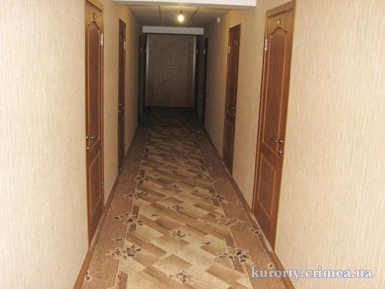 """Пансионат """"Украина-1"""", коридор, 5-этажный корпус"""