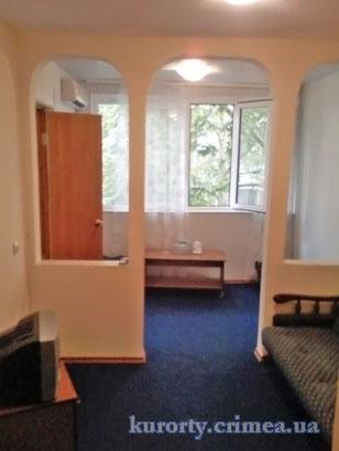"""Парк-отель """"Марат"""", корпус 9, 2-х местный 2-х комнатный стандарт, гостиная."""