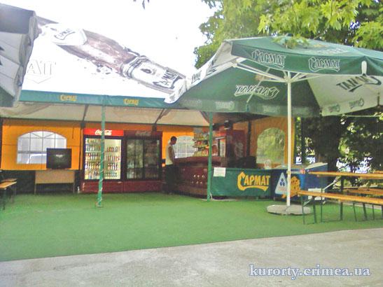 """Парк-отель """"Марат"""", летнее кафе."""