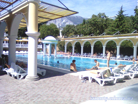 "Парк-отель ""Марат"", бассейн."