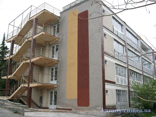 """Санаторий """"Алуштинский"""", корпус 6."""