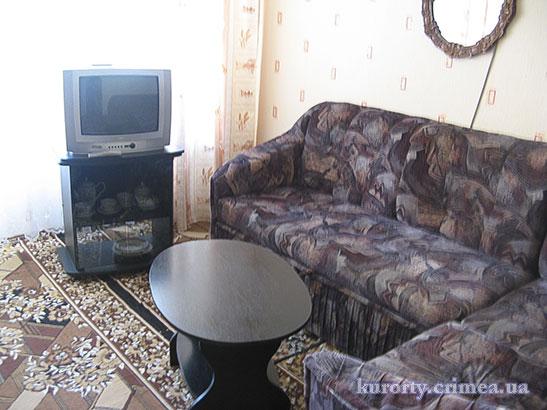 """Санаторий """"Киев"""", двухкомнатный двухместный люкс, гостиная"""
