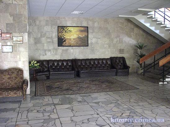 "Санаторий ""Киев"", холл"