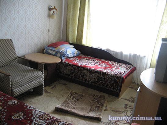 """Санаторий """"Киев"""", двухместный стандарт в корпусе №2"""
