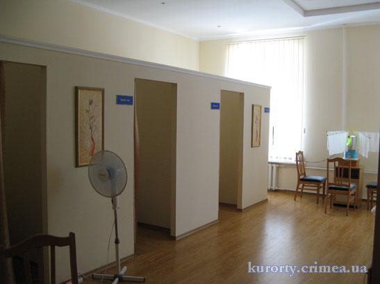 Санаторий Пограничник, лечебное отделение, комната ЛОР-терапии.