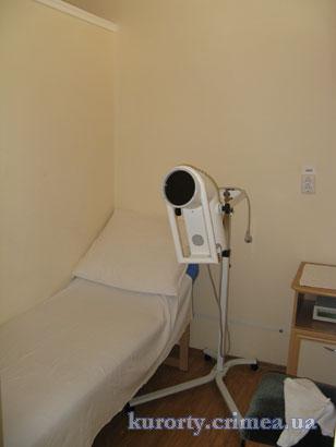 Прибор Биоптрон-2 для лечения светотерапией в санатории Пограничник.