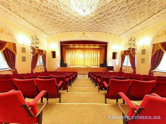 """Санаторий """"Золотой колос"""", киноконцертный зал."""
