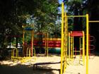 """Санаторий """"Золотой колос"""", детская площадка."""